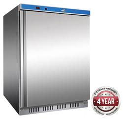 Thermaster HF200-SS 129L Solid Door Undercounter Freezer