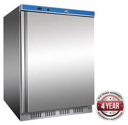 Thermaster HR200-SS 129L Solid Door Undercounter Fridge