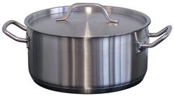 Forje CL8 3.3 Litre Low SS Casserole Pot with Lid