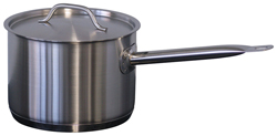 Forje SH2 2.4 Litre High SS Saucepan with Lid