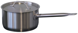 Forje SL1 1.0 Litre Low SS Saucepan with Lid