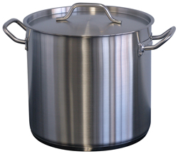 Forje WSS12 12 Litre SS Stock Pot with Lid