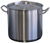 Forje WSS8 8 Litre SS Stock Pot with Lid