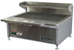 Synergy Grill SG900 Dual Burner Clever Cooking Grill