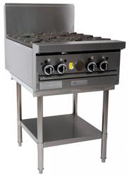 Garland GF24-4T Restaurant Series Gas 4 Open Top Burners Modular Top
