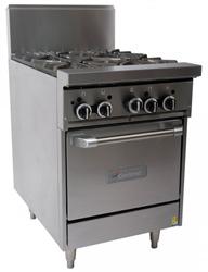 Garland GF24-G24L Restaurant Series Gas 600mm Griddle Space Saver Oven