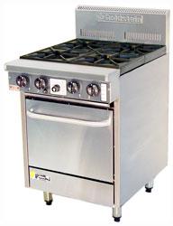 Goldstein PF420 4 Burner Gas Oven