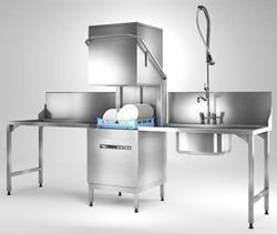 Hobart ECOMAX PLUS 615 Passthrough Dishwasher