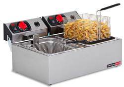 Anvil-Axis FFA0002 Double Pan Bench Top Deep Fryer