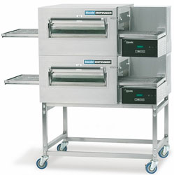 Lincoln 1154-2 Impinger II Gas Conveyor Pizza Oven