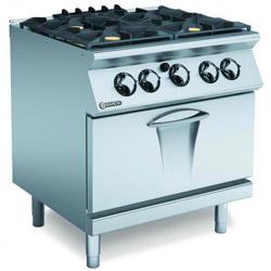 Mareno ANC7FG8G32 Gas 4 Burner Cooktop Gas Static Oven