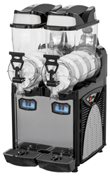 Cofrimell CF-2294 Double Bowl Oasis 2 Slushy Granita Dispenser