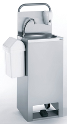 Tournus 806519 Mobile Hand Wash Basin with hot water
