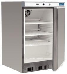 Polar CD081 Undercounter SS Freezer 140L
