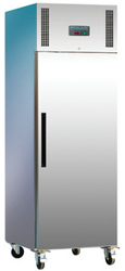Polar DL893 1 Door Upright 600L SS Fridge
