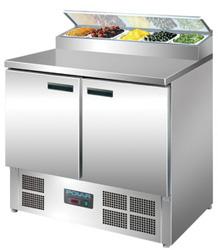 Polar G604-A 2 Door Refrigerated Prep Counter