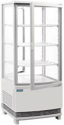 Polar CB507-A 86L Curved Glass Chilled Display Cabinet