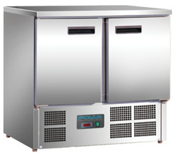 Polar U636-A 2 Door Counter Refrigerator