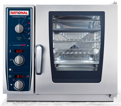 Rational CMP-XS-623 CombiMaster Plus 6x2/3rd Tray Electric Combi Oven