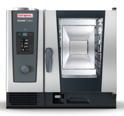 Rational ICC61G iCombi Classic 6 Tray Gas Combi Oven
