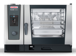 Rational ICC62G iCombi Classic 6 Tray Gas Combi Oven