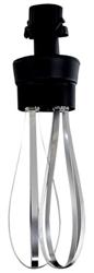 Bermixer EL653578 Reinforced Whisk Attachment for Portable Mixers