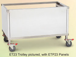 Roband ETP22 Food Bar Stand with SS Panels