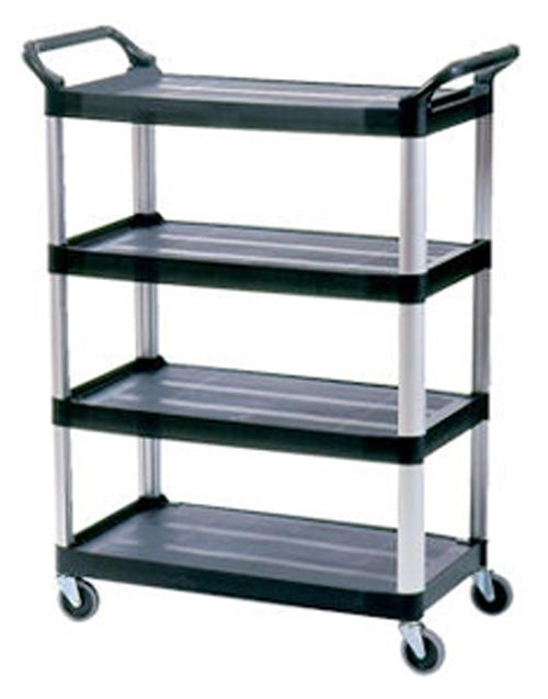 Rubbermaid 4096 Xtra 4 Shelf Cart