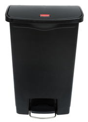 Rubbermaid 50L Slim Jim Resin Front Step-on Containers