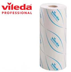 Vileda MicronSolo Disposable Wipes 180 Sheet Roll