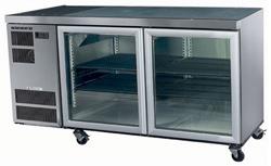 Skope CL400-2SW 2 Door Counter Fridge