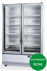 Skope BME1200N-A Active Core 2 Door Display Refrigerator