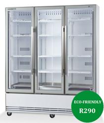 Skope BME1500N-A ActiveCore 3 Door Display Refrigerator