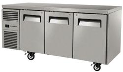 Skope ReFlex RF7.UBF.3.SD 3 Solid Door Underbench Food Storage Freezer