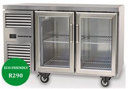 Skope Reflex RF7.UBR.2.GD 2 Glass Door Underbench Food Storage Fridge