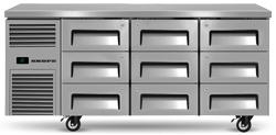 Skope ReFlex RF7.UBR.3.D9 9 Drawer Underbench GN 1/1 Compatible Fridge