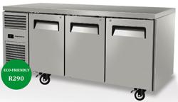Skope ReFlex RF7.UBR.3.SD 3 Solid Door Underbench Food Storage Fridge