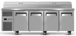 Skope ReFlex RF8.PPZ.4.SD 4 Solid Door GN Compatible Pizza Preparation Fridge
