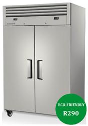 Skope ReFlex RF8.UPC.2.SD 2 Solid Door Upright Food Storage Combo Fridge Freezer