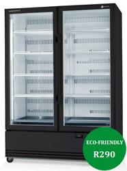 Skope SKB1200SS-A ActiveCore 2 Door Stainless Steel Display Refrigerator