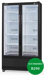 Skope SKB900SS-A ActiveCore 2 Door Stainless Steel Display Refrigerator