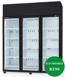 Skope SKT1500N-A-SS ActiveCore 3 Door Stainless Steel Display fridge
