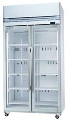 Skope VFX1000 2 Door White Display Freezer