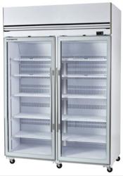 Skope VFX1300 2 Door White Display Freezer