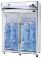 Skope VFX1300-Ice 2 Door White Display Freezer