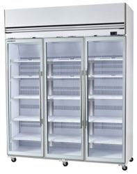 Skope VFX1500 3 Door White Display Freezer