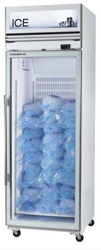 Skope VFX650-Ice 1 Door White Vertical Display Freezer