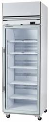 Skope VFX650SS 1 Door Vertical Stainless Steel Display Freezer
