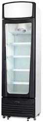 Skope Serene SC400-Black 1 Door Vertical Chiller