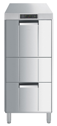 Smeg FD511DAUS Special Line Fully Insulated Elevated Underbench Dishwasher